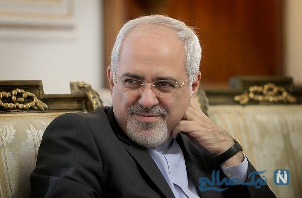 تعظیم محمد جواد ظریف در مقابل دست دادن خانم دیپلمات + عکس