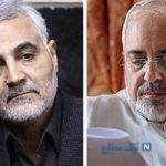 واکنش سردار سلیمانی به استعفای ظریف وزیر امور خارجه ایران