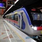 یک صحنه کمیاب و جالب در مترو تهران + عکس