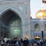 آخرین روز اعتکاف در قم و مشهد