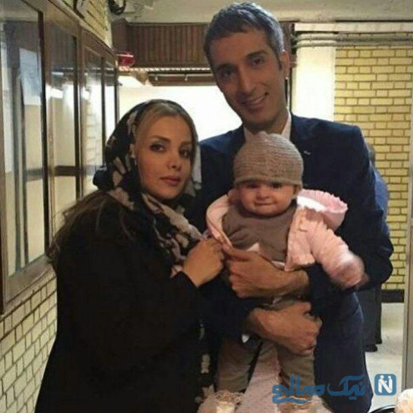 امیر مهدی ژوله و همسر و دخترش