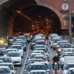 ترافیک سنگین تهران در روزهای پایانی سال ۹۷