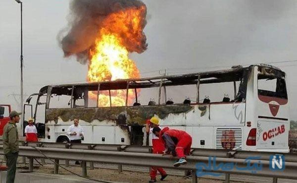انفجار خط لوله گاز اهواز