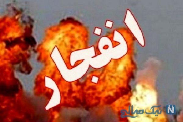 خودروهایی که در انفجار خط لوله گاز اهواز سوختند + تصاویر