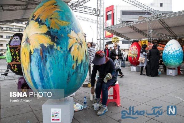 جشنواره تخم مرغ های رنگی
