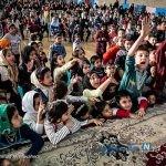 جشن عیدانه کودکان کوره های آجرپزی با حضور خاله نرگس