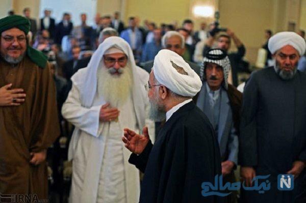 حسن روحانی در عراق