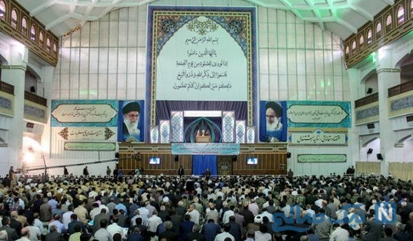 محافظت از امام جمعه تبریز با اسلحه پلاستیکی!