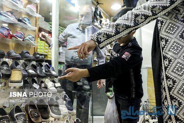 تصاویری از خرید شب عید برای کودکان کار و خیابان