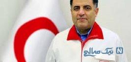 عکس رئیس جمعیت هلال احمر در مناطق سیل زده خبرساز شد!
