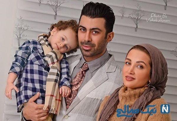 روناک یونسی با همسرش