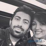 هشتمین سالگرد ازدواج روناک یونسی و همسرش