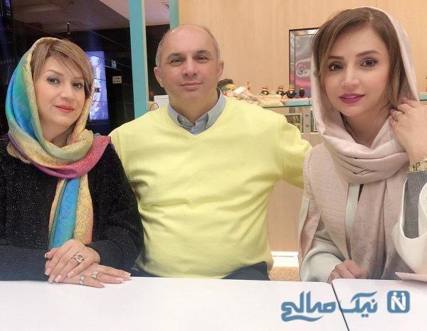 شبنم قلی خانی و خواهر و برادرش
