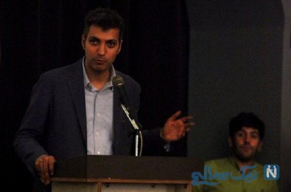 عادل فردوسی پور در جشنواره جام جم سکوتش را شکست!