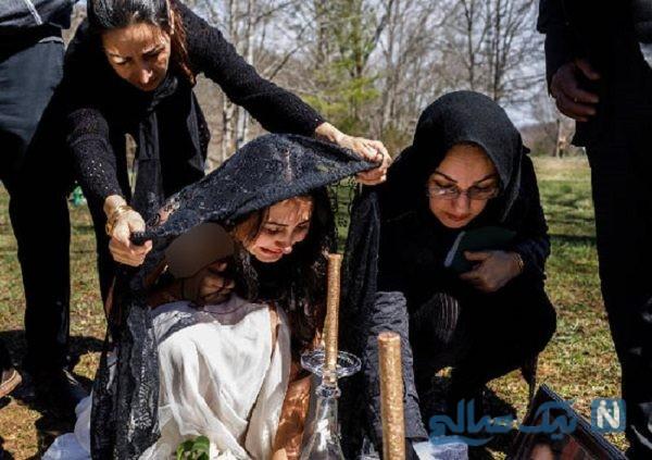 دختر ایرانی در آمریکا