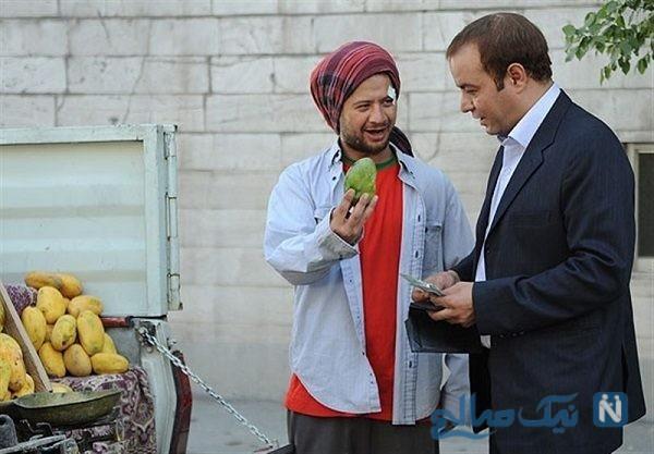 تصاویر جدید از سعید آقاخانی و علی صادقی در سریال ن.خ