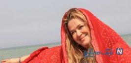 عکس های نوروزی بهاره رهنما در کنار سفره هفتسین