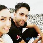 عکس جدیدی از کیمیا علیزاده و شوهر والیبالیستش