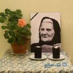 تصاویری از مراسم تشییع لیلیت تریان مادر مجسمه سازی ایران