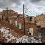 تصاویری از زندگی سخت خانواده ای در منطقه فقیر نشین تبریز