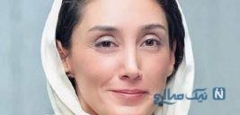 هدیه تهرانی بازیگر سینما در استان سیل زده گلستان