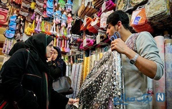 لباس عید خانم ها امسال چقدر آب می خورد؟ + عکس