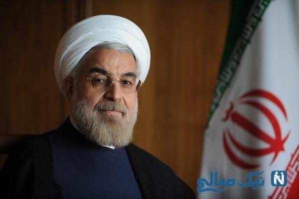 روحانی در سفر به عراق پنکه اش را هم برد + تصاویر