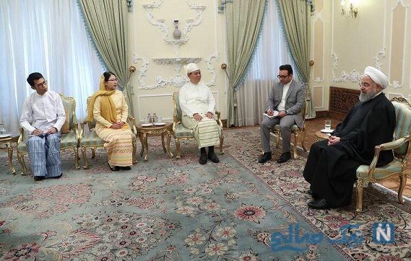 تصاویری از پوشش عجیب مهمان های روحانی
