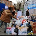 تصاویری از کمک های مردمی به سیل زدگان گلستان