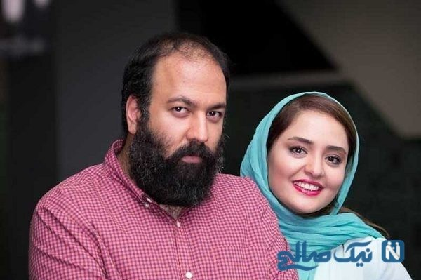کیک جالب جشن تولد علی اوجی به انتخاب همسرش نرگس محمدی