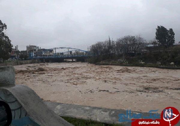 بزرگترین پارک شمال کشور به دلیل بارش شدید به زیر آب رفت+تصاویر