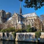 آتش سوزی وحشتناک در کلیسای نوتردام پاریس + تصاویر