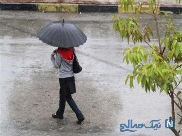 بارش شدید باران در ایران