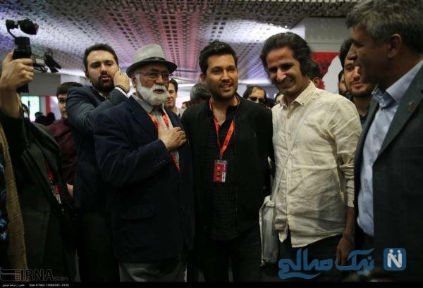بازیگران در جشنواره جهانی فجر
