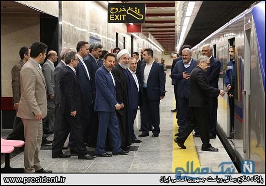 افتتاح خط شش مترو