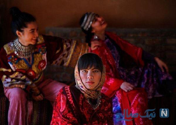 تصاویر خوش رنگ و لعاب از زنان افغان