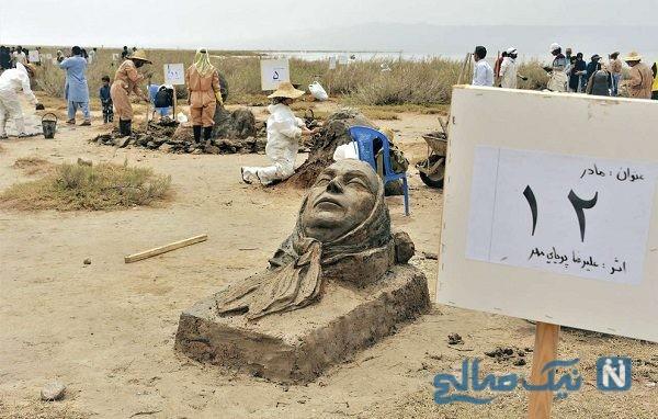 مجسمه های نمکی نهبندان