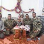 تصاویری از جشن تولد تکاوران ارتش برای دختر پلدختری