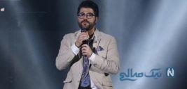 واکنش حامد همایون خواننده پاپ به ممنوع التصویر شدنش