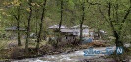 خانه های غیر قانونی در حاشیه رودخانه های گیلان