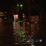 تصاویری از خیابان های بندرعباس در زیر آب