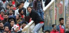 تصاویری از درگیری شدید بعد از باخت تراکتورسازی در تبریز