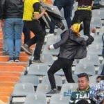 ورزشگاه آزادی بعد از درگیری هواداران پرسپولیس و سپاهان + تصاویر