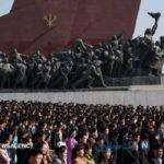 تصاویری جالب و دیدنی از روز خورشید در کره شمالی