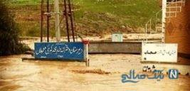 کلاسی پر از گِل در روستای چم مهر پلدختر