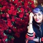 تصاویری از سگ مریم معصومی بازیگر ایرانی