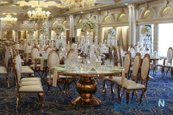 عروسی های لاکچری در تهران