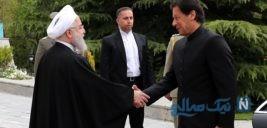 استقبال گرم روحانی از عمران خان نخست وزیر پاکستان
