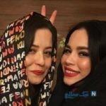 عکس جدید ملیکا شریفی نیا و خواهر فروردینی اش