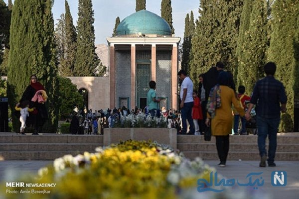 تصاویری از مراسم بزرگداشت سعدی در شیراز